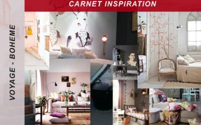 carnet inspiration – bohème