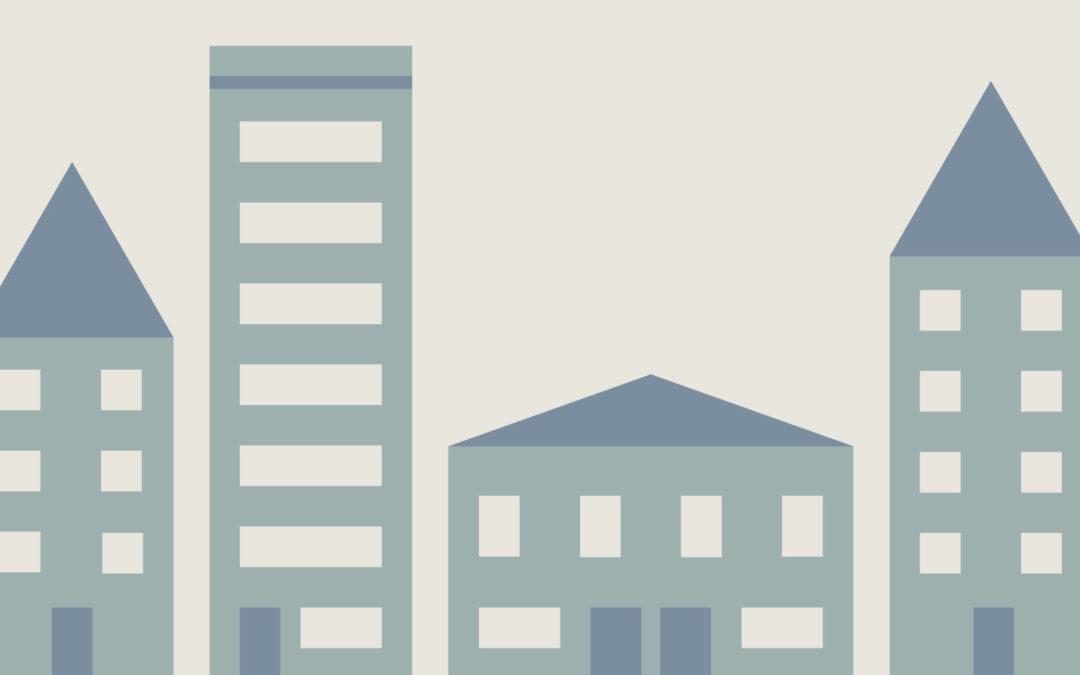 Schéma : 4 immeubles sur votre mur