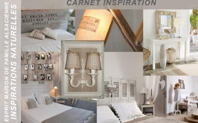 Carnet inspiration – Naturelles