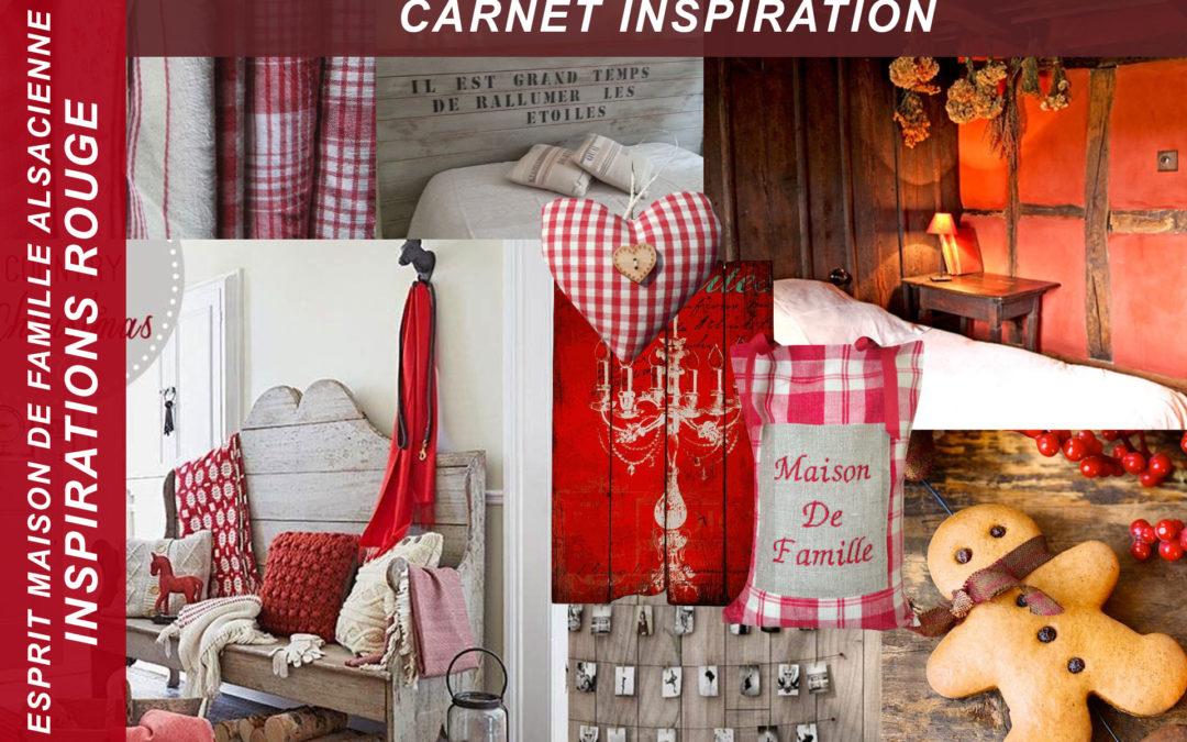 Carnet inspiration – Rouge